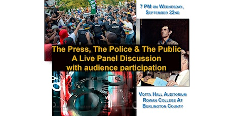 The Press, the Police and the Public tickets