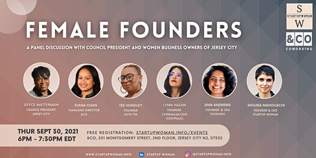 Jersey City Female Founders Panel tickets