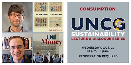UNCG Sustainability Lecture & Dialogue Series: Consumption tickets