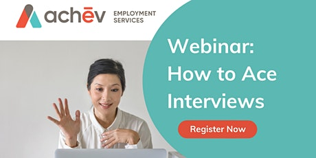 How to Ace Interviews tickets