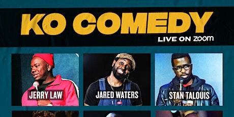 KO Comedy Live on Zoom: Sunday, September 19th, 2021 tickets