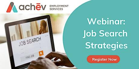 Job Search Strategies tickets