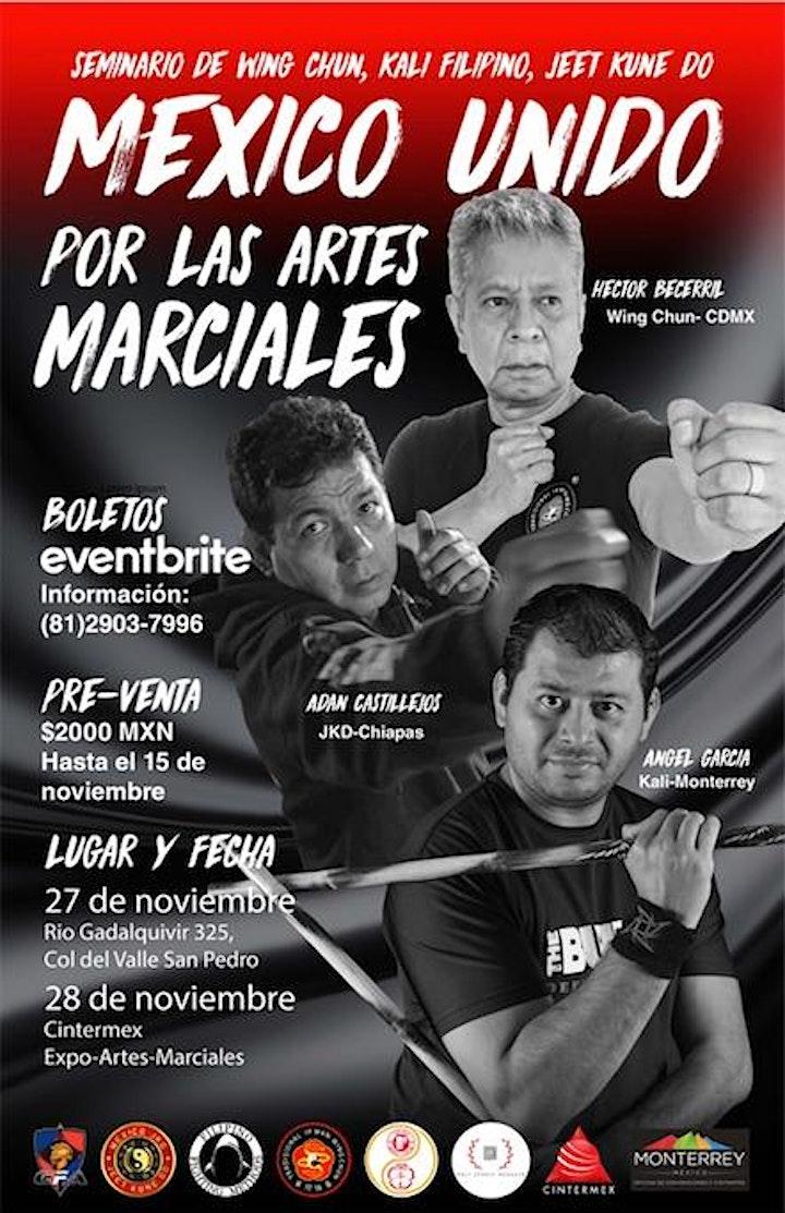 Imagen de MEXICO UNIDO POR LAS ARTES MARCIALES - JKD, WING CHUN, KALI FILIPINO
