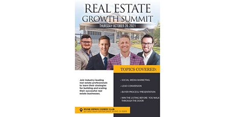 Real Estate Growth Summit tickets