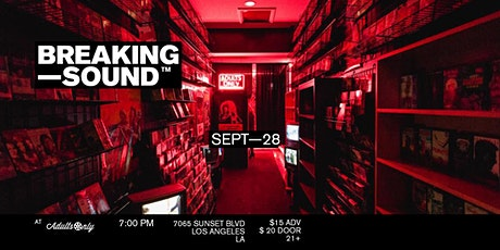 Breaking Sound LA feat. Liam St. John, Summer Breeze, Lexi Cline, and more tickets