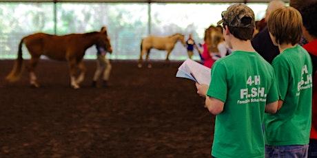 2021 Florida 4-H/FFA Horse Judging School tickets