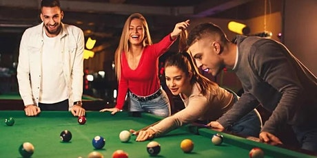 Pool! Party! Come Solo or Bring a Date! $15/Hr (Blatt Billiards 7ft) tickets