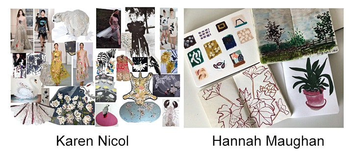 Embroiderers' Guild TALKING THREADS: Hannah Maughan and Karen Nicol image