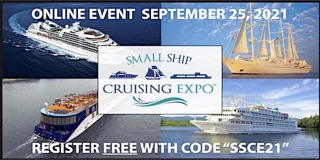 Small Ship Cruising Expo - Free tickets