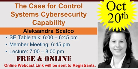 The Case for Control Systems Cybersecurity Capability tickets