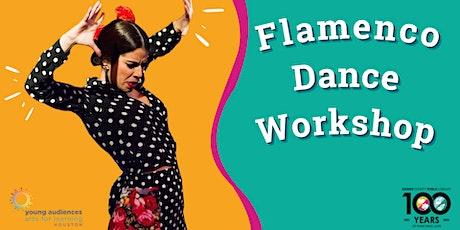 Free Flamenco Dance Class - LIVE Online Event Celebrating Hispanic Heritage tickets