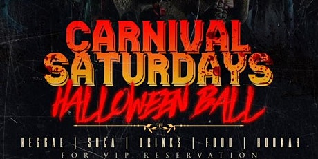 CARNIVAL SATURDAYS : HALLOWEEN BALL tickets