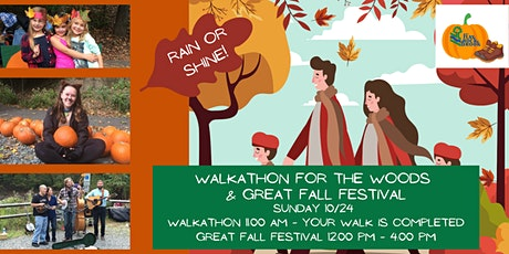 Walkathon for the Woods and Great Fall Festival tickets