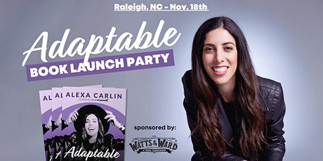 Adaptable Book Launch Party | Raleigh, NC tickets
