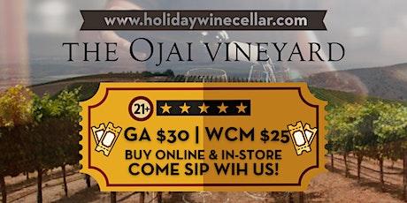 #SippinSaturday   The Ojai Vineyards Wine Tasting tickets