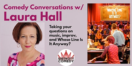 Comedy  Conversation with Laura Hall tickets