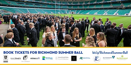 Richmond Summer Ball - Awards, Pitch-side  Reception, Dinner and Dancing tickets
