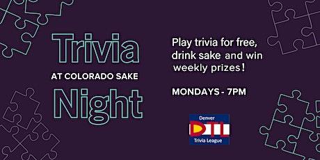 Trivia Night w/ DTL tickets