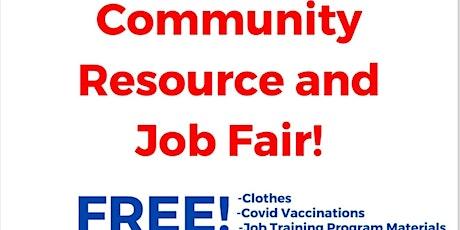 Community Resource & Job Fair tickets