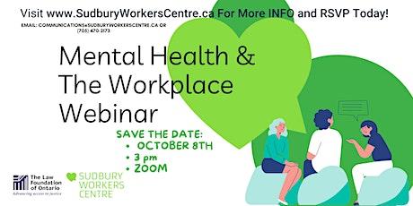 Mental Health & The Workplace: Webinar tickets
