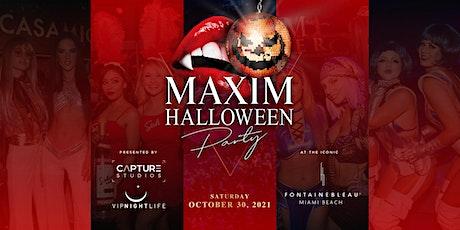 Maxim Halloween Party - Miami tickets