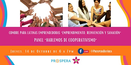 """Panel """"Hablemos sobre cooperativismo"""" tickets"""