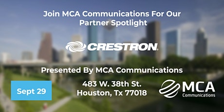 MCA and Crestron Present: Workplace and Beyond tickets