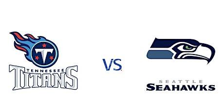 Tennessee Titans vs Seattle Seahawks   NFL Madrid Bar entradas