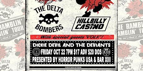 HPUSA presents The Delta Bombers / Hillbilly Casino / Volk / Dickie Devil tickets
