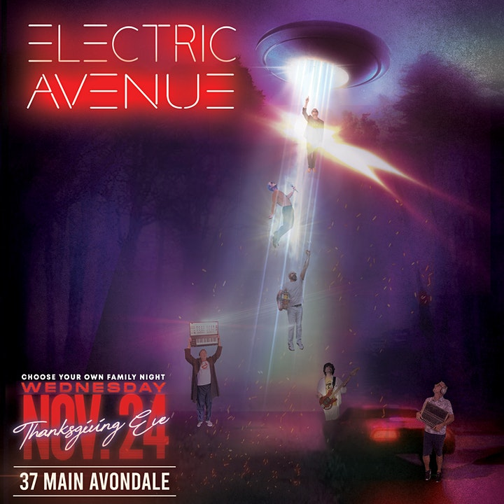 Electric Avenue (80s MTV Experience) image