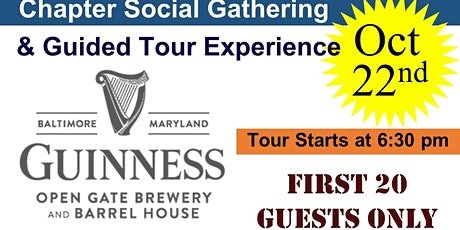 Guided Tour Experience at Guinness Open Gate Brewery tickets