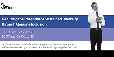 Realizing the Potential of Sustained Diversity through Genuine Inclusion tickets