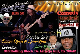 The Big 50 Music with Comedy tickets