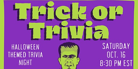 Trick or Trivia with TriviAddiction tickets