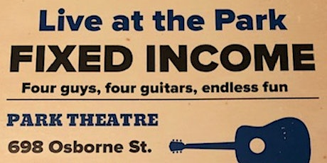 Fixed Income - Four Guys, Four Guitars, Endless Fun tickets