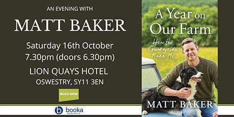 An Evening with Matt Baker tickets