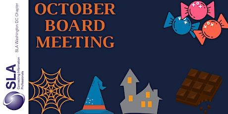 DC SLA October Board Meeting tickets