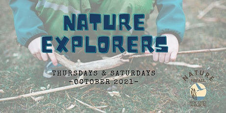 Nature Explorers - FALL 2021 Series! tickets