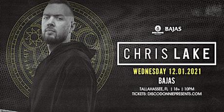 Chris Lake at Bajas | Tallahassee. FL tickets