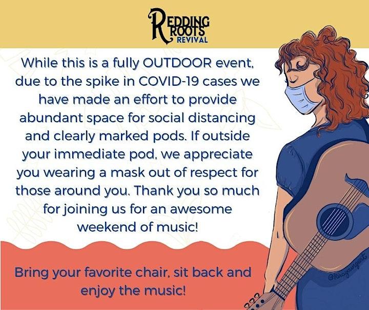 Redding Roots Revival Music Festival 2021 image