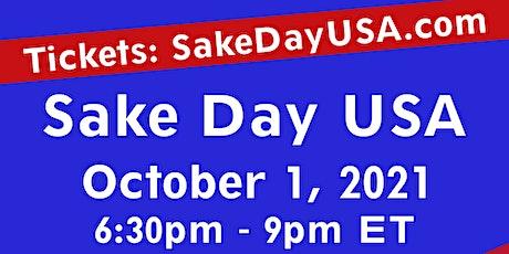 Sake Day USA ONLINE (LIVESTREAM) tickets