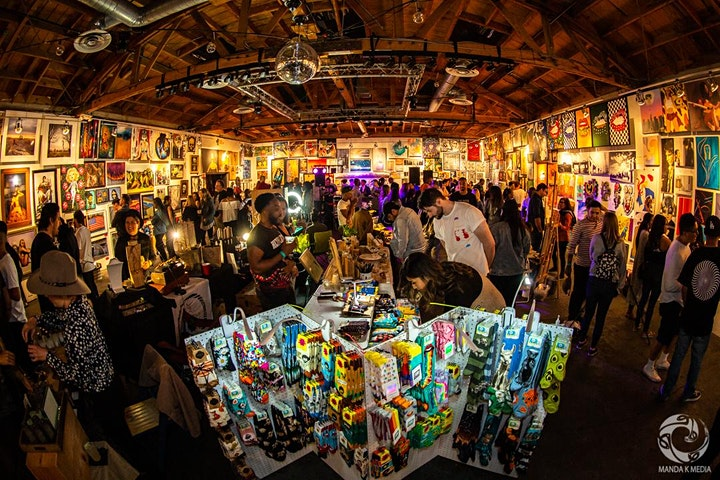 The New Orleans Pancakes & Booze Art Show image