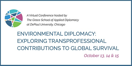 Environmental Diplomacy: Transprofessional Contributions to Global Survival tickets