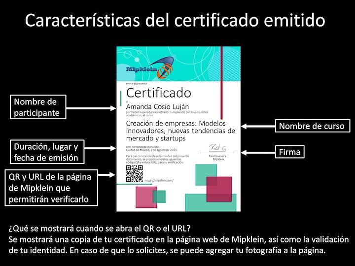 """Imagen de Curso online """"Creación de empresas: Modelos innovadores, nuevas tendencias"""