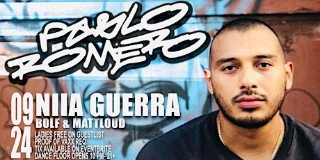 MOVE FRIDAYS PRESENTS PABLO ROMERO•NIIA GUERRA•BOLF & MATTLOUD• tickets