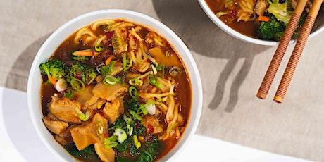 Umami Vegetable Ramen: FREE Virtual Cooking Class tickets