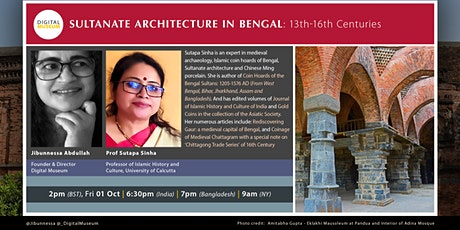 SULTANATE ARCHITECTURE IN BENGAL: 13th-16th Centuries tickets