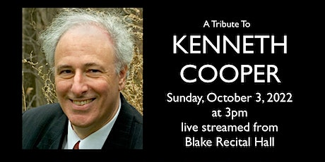 Pillow Concert: A Tribute to Kenneth Cooper tickets