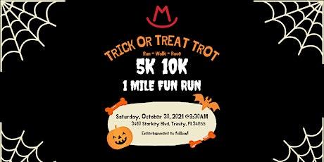Halloween Trick-or-Trot at Starkey Market! 5k/10k/1 Mile Fun Run tickets
