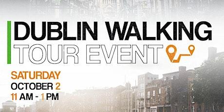 Dublin Walking Tour tickets